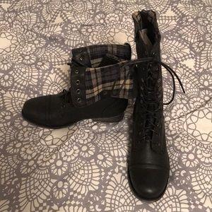 New madden Girl GEMINII Black Combat boot 7 M